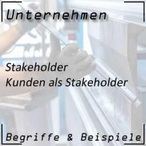 Unternehmen Stakeholder Kunden