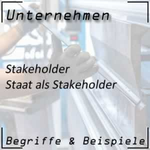 Stakeholder Staat