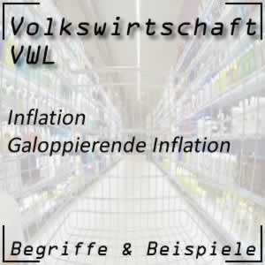 Inflation galoppierende Inflation