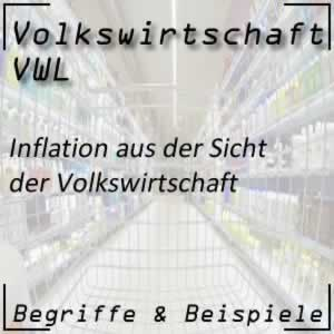 Volkswirtschaft Inflation Inflationsrate