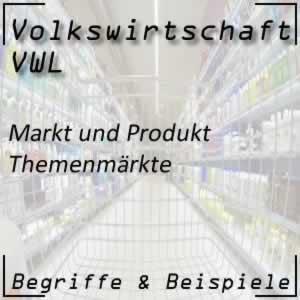 Markt <-> Produkt