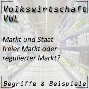 VWL Markt <-> Staat