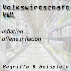 Inflation offene Inflation