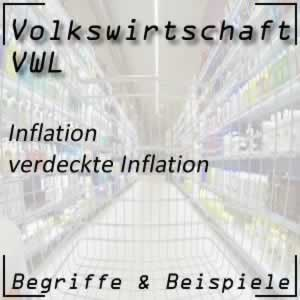 Inflation verdeckte Inflation