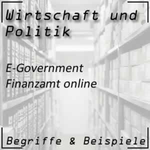Wirtschaftspolitik E-Government FinanzOnline